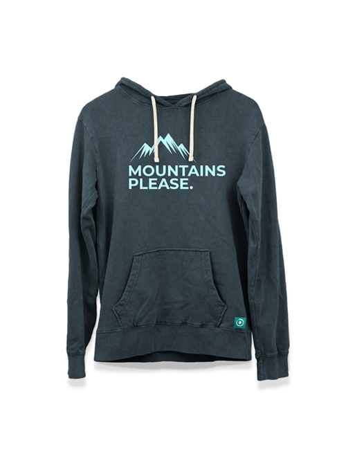 """MOUNTAIN PLEASE"" HOODIE"