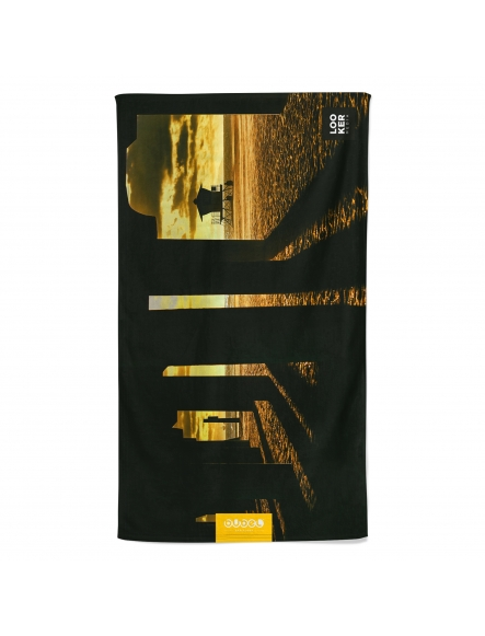 """SUNSET TIMES"" TOWEL by Looker"