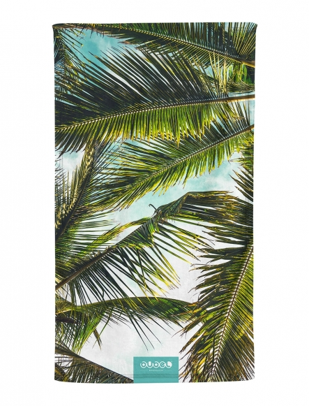 """WINDY PALMS"" TOWEL"
