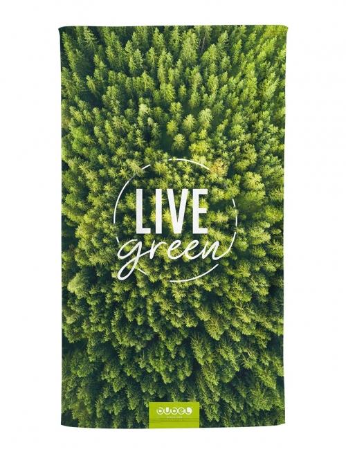 """""""LIVE GREEN"""" TOWEL"""
