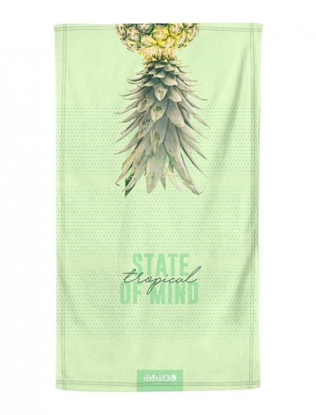 """TROPICAL MIND"" TOWEL"