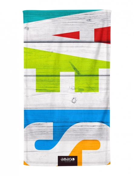 """SEA BLOCK"" TOWEL"
