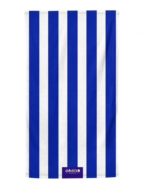 "TOALLA ""BLUE STRIPES"""
