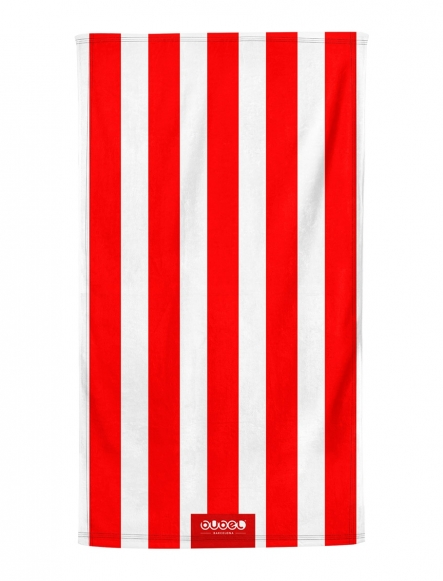 """RED STRIPES"" TOWEL"