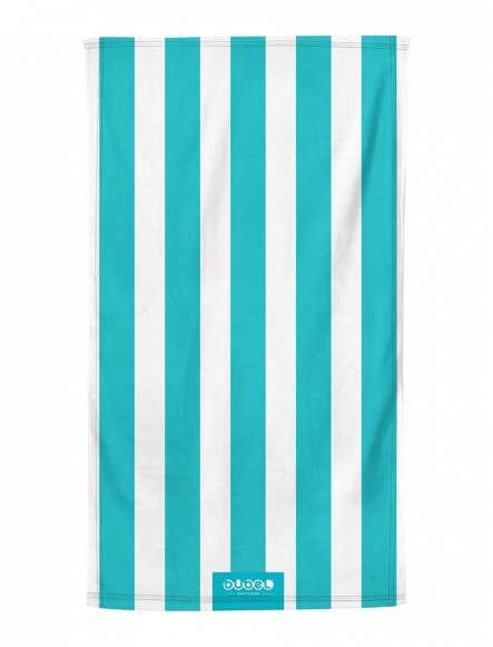 """TURQUOISE STRIPES"" TOWEL"
