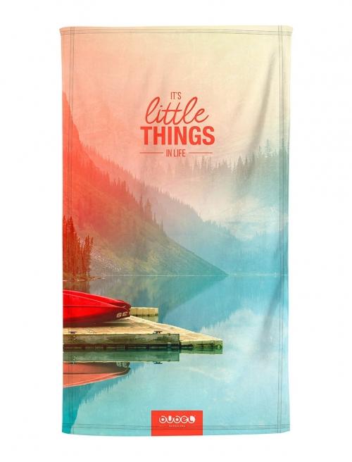 """""""LITTLE THINGS"""" TOWEL"""