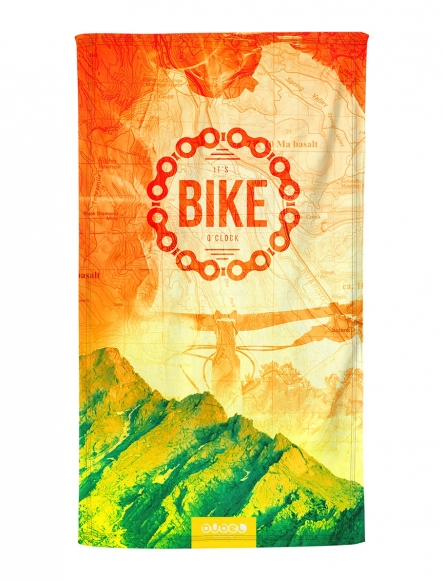"""BIKE TIME"" TOWEL"