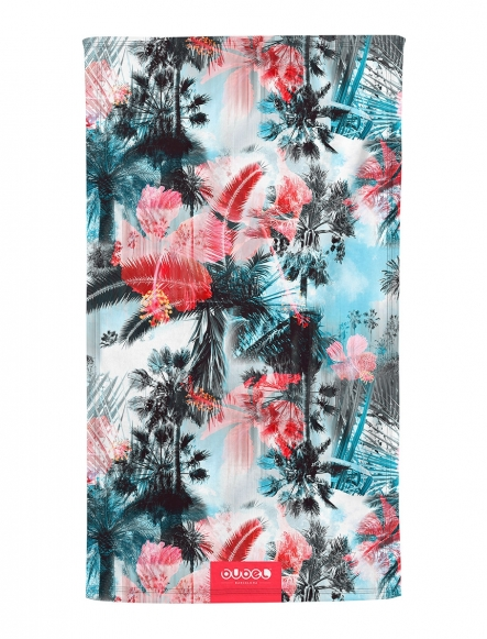 """PALMS & ROSES"" TOWEL"