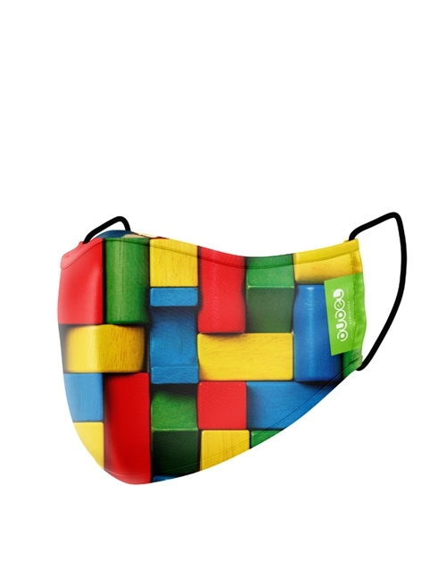 BLOCKS MASK (kids)