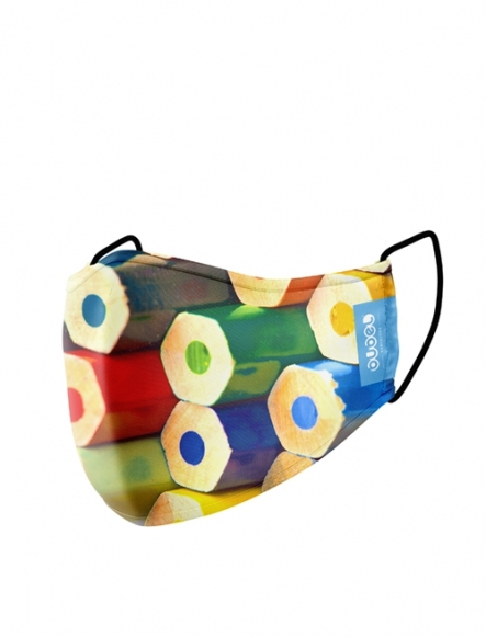 CRAYON MASK (kids)