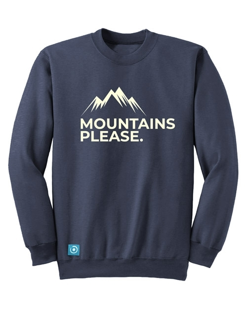 """MOUNTAIN PLEASE"" SWEATSHIRT"