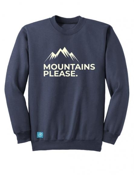 "SUDADERA ""MOUNTAIN PLEASE"""