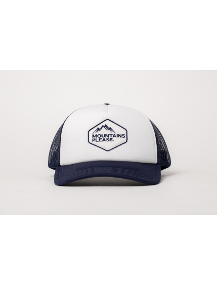 """MOUNTAINS PLEASE"" NAVY CAP"
