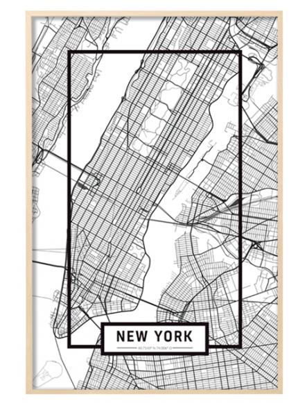 """NEW YORK"" MAP"