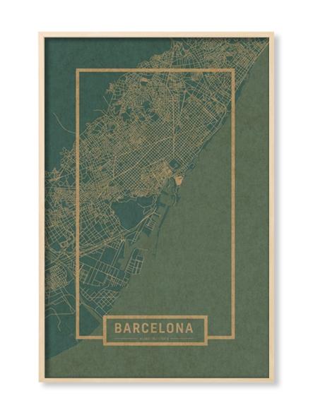 """BARCELONA"" MAP"