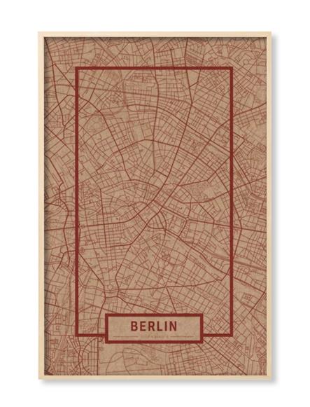 """BERLIN"" MAP"