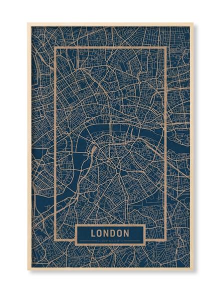 """LONDON"" MAP"