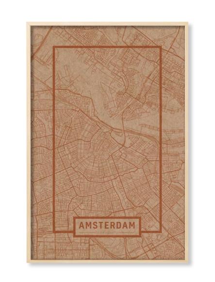 """AMSTERDAM"" MAP"
