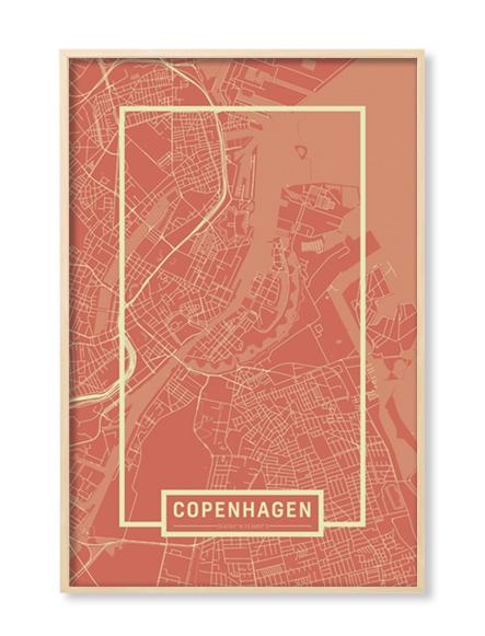 """""""COPHENAGEN"""" MAP"""