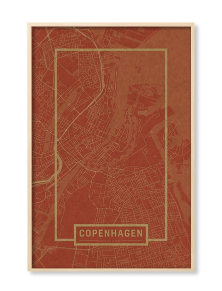 """COPHENAGEN"" MAP"
