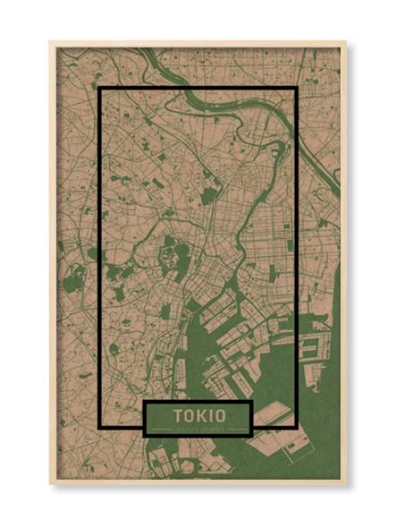 """""""TOKIO"""" MAP"""