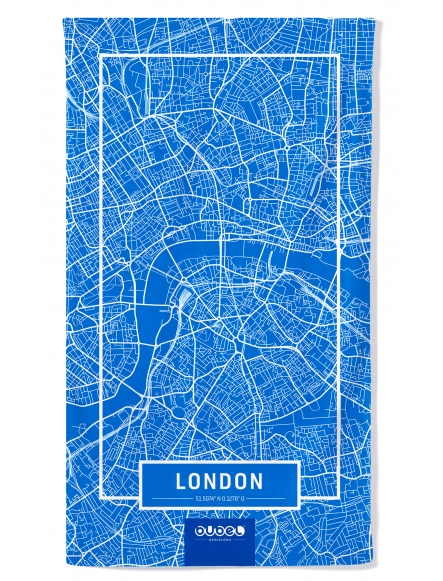 "TOALLA ""LONDON MAP"""
