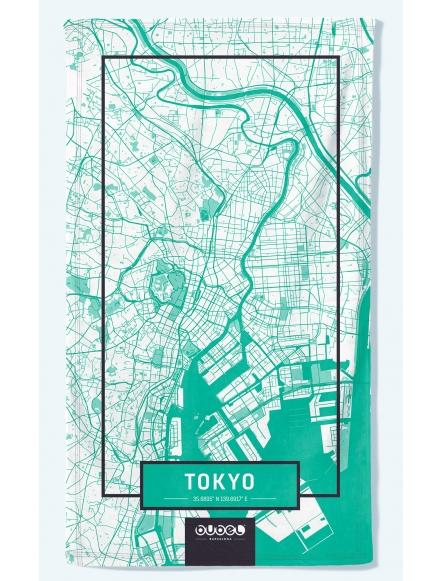 """""""TOKIO MAP"""" TOWEL"""