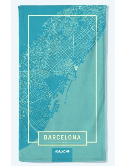 "TOALLA ""BARCELONA MAP"""