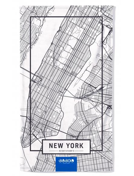 """NEW YORK MAP"" TOWEL"